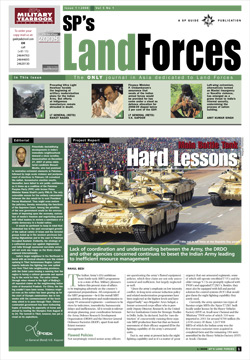 SP's Land Forces ISSUE No 01-08